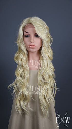 Blonde Long Curly Lace Front Wig - Lady Series LLLAU44