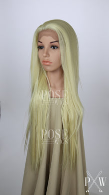 Blonde Long Straight Lace Front Wig - Lady Series LLHAW44