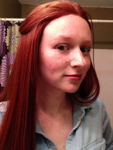 Red Long Straight Lace Front Wig - Lady Series LLHAW52