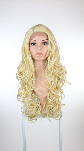 Blonde Long Curly Lace Front Wig - Lady Series LLHOL44