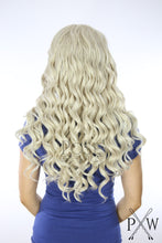 Ash Blonde Long Curly Lace Front Wig - Princess Series LP020