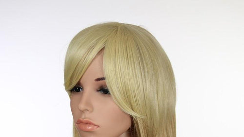 Blonde Clip-in Bangs Hairpiece HPF70144