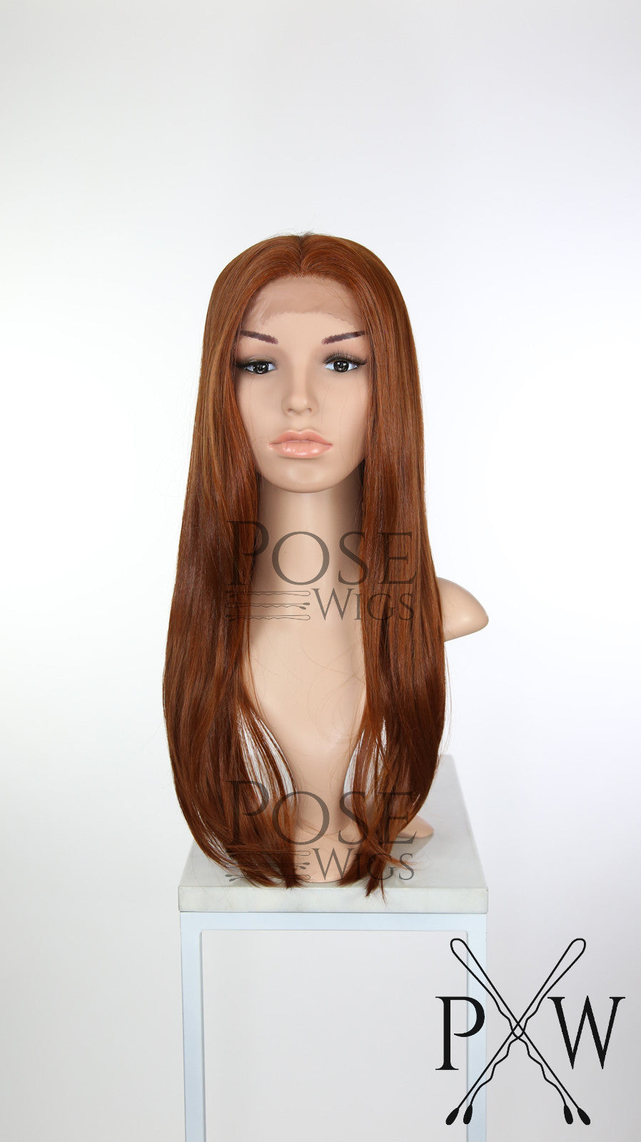 Red Long Straight Lace Front Wig - Lady Series LLDAH52