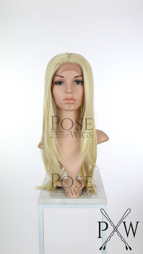 Blonde Long Straight Lace Front Wig - Lady Series LLDAH44