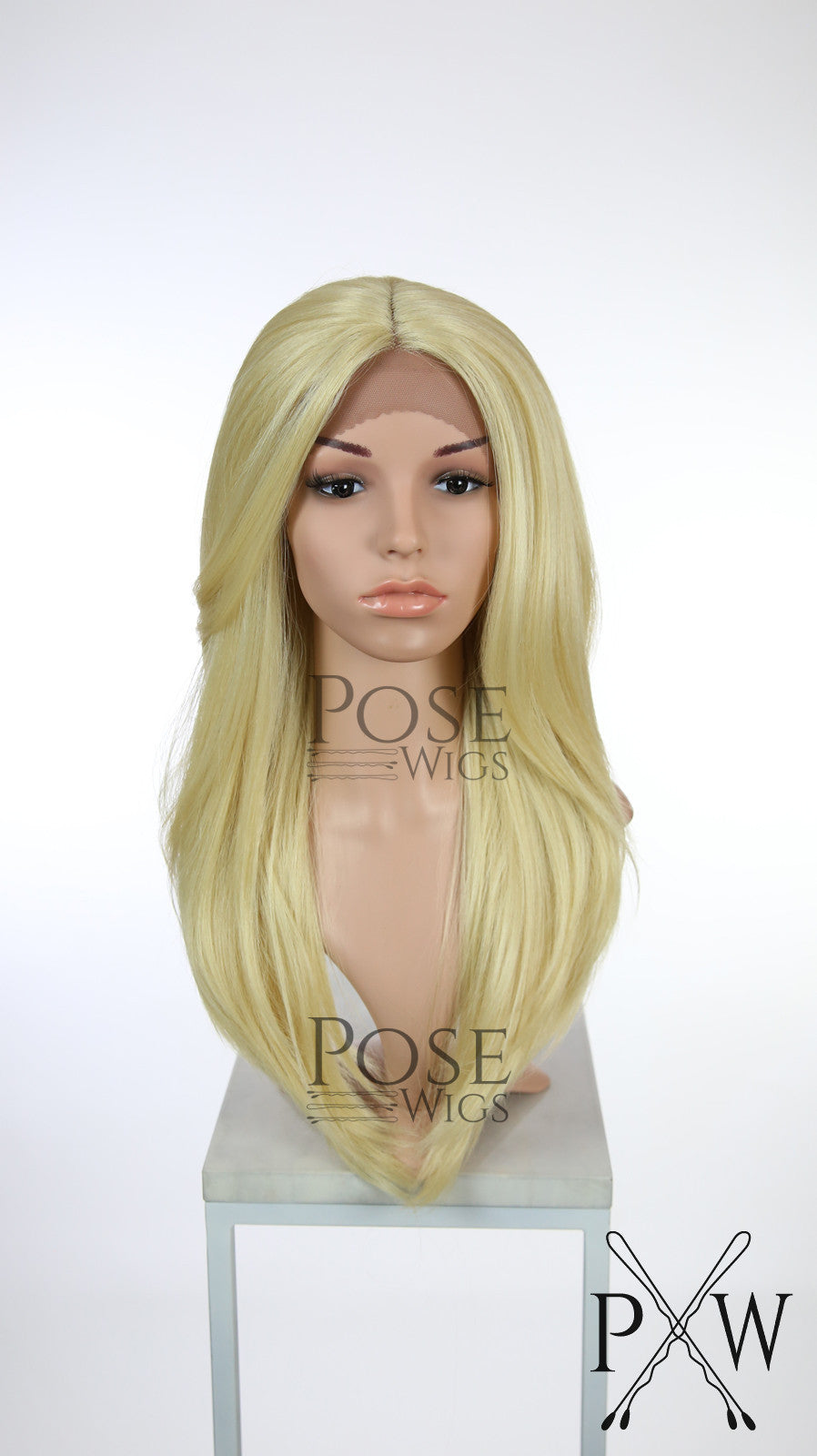 Blonde Long Straight Lace Front Wig - Duchess Series LDTWI44