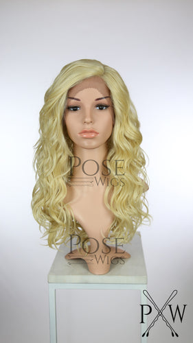 Blonde Long Curly Lace Front Wig - Duchess Series LDCAL44