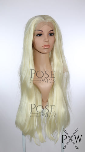 Crystal Blonde Long Straight Lace Front Wig - Princess Series LP192