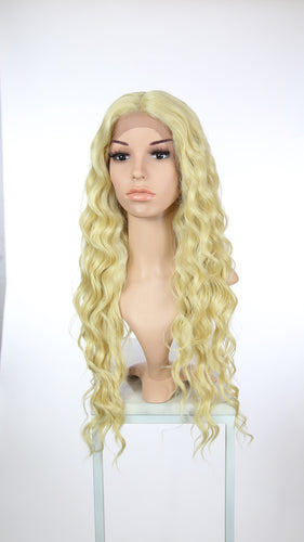 Blonde Long Curly Lace Front Wig - Duchess Series LDNIX44