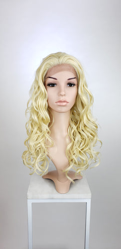 Blonde Long Curly Lace Front Wig - Lady Series LLVOG44