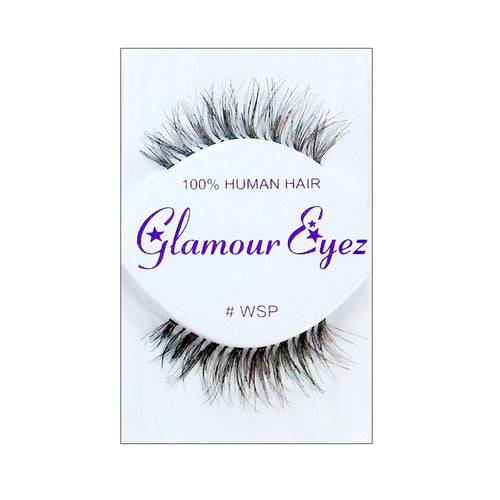 False Eyelashes / Made with 100% human hair / EYELASHWSP