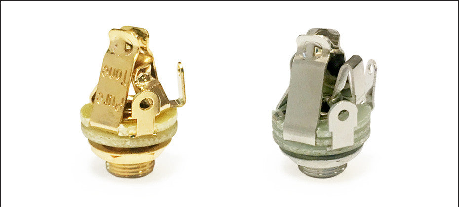 New PTT1G Gold and PTT2 Stereo Jacks