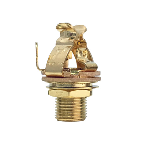 Pure Tone Mono Multi-Contact 1/4″ Output Jack - Gold-Plated