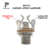 "PTT1 1/4"" Output Jack Wiring Diagram"
