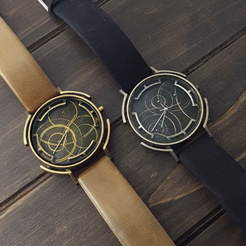 Nickel/Black Orbital Watch