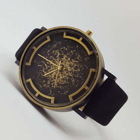handmade quartz watch wristwatch men's fashion unisex accessories