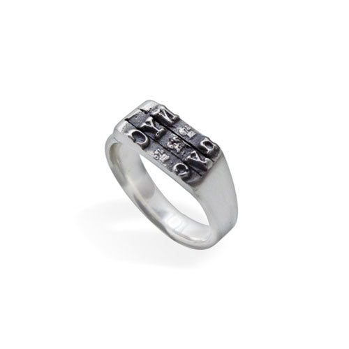 NYC Typewriter Ring
