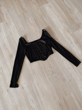 Arabella cropped long sleeve