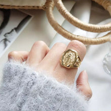 GOLD PLATED TOKARA RING