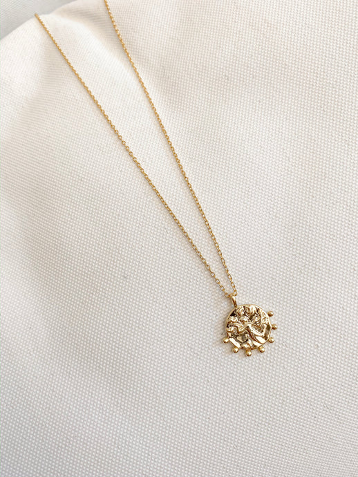 TANKWA GOLD PLATED PENDANT