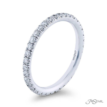 Diamond Eternity Band with round diamonds in cut down setting 0148-005