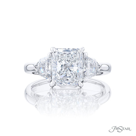 0283-022 | Diamond Engagement Ring Radiant-Cut 2.32 ct. GIA Certified Front View