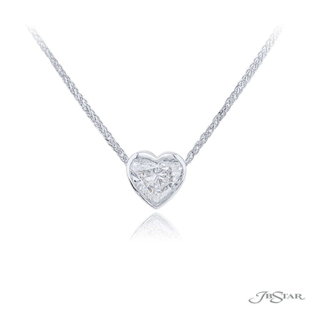 1637-062 | Diamond Heart-Shaped Pendant 2.01 ct. GIA Certified