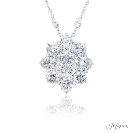 1647-005 | Diamond Pendant Radiant Cut 1.91 ct. GIA certified
