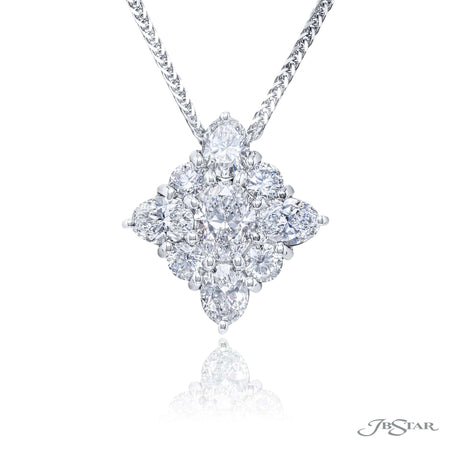 1647-013 | Diamond Pendant 0.70 ct. GIA Certified Oval