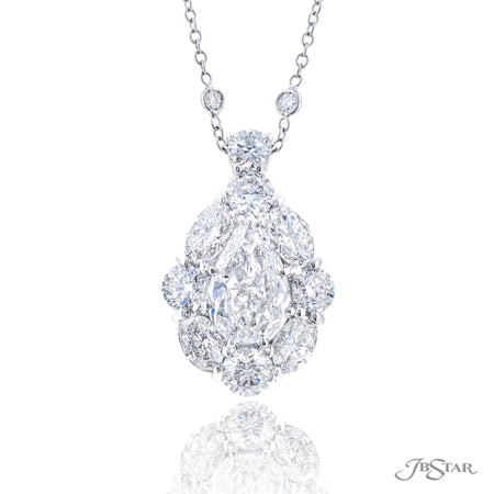 2366-019 | Diamond Pendant 2.09 Pear-Shaped GIA Certified