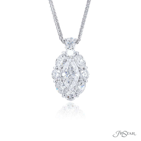 2384-004 | Diamond Pendant Marquise 1.33 ct. GIA Certified