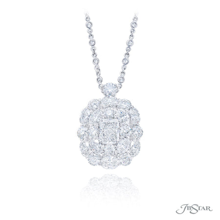 2384-005 | Diamond Pendant Radiant-Cut 3.01 ct. GIA Certified