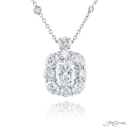 2438-027 | Diamond Pendant Radiant-Cut 1.52 ct. GIA Certified