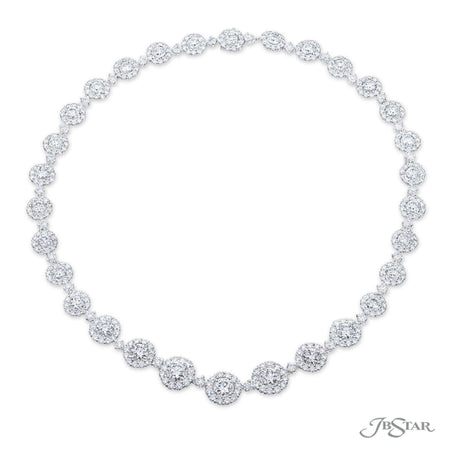2564-010 | Diamond Necklace Round GIA Certified