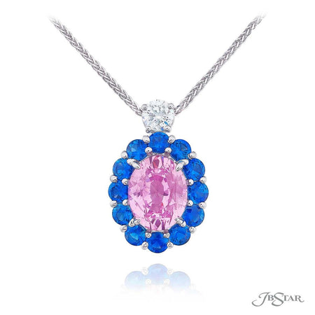 Gorgeous pendent featuring a 5.44 ct. certified