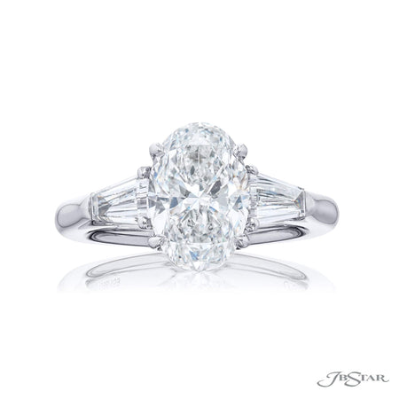 4398-159 | Diamond Engagement Ring 2.52 ct. GIA Certified Radiant-Cut Front View