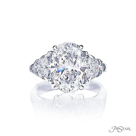 4.34 ct Platinum Diamond Engagement Ring