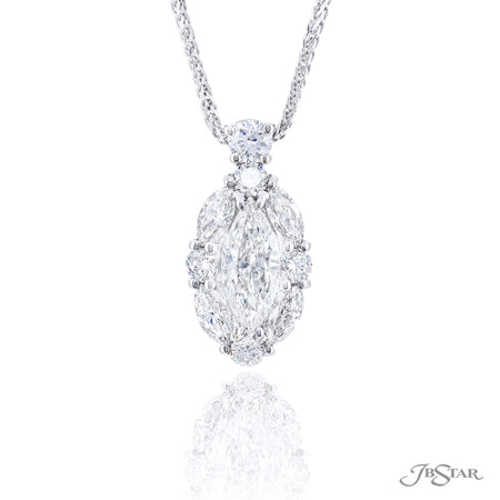 5836-001 | Diamond Pendant Marquise Cut 0.70 ct. GIA certified