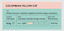 Load image into Gallery viewer, Colombian Yellow Cat Espresso