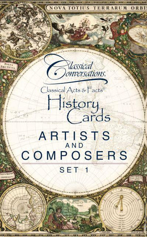 Classical Acts & Facts® Artists and Composers Set 1
