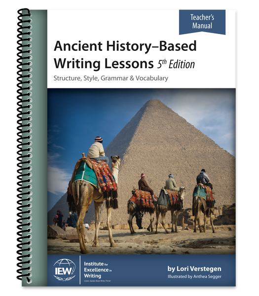 IEW Ancient History-Based Writing Lessons - Teacher
