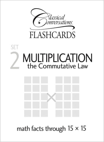 Math Flashcards - Set 2: Multiplication