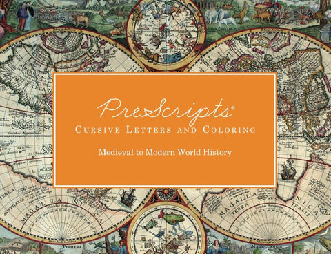 PreScripts® Cursive Letters: Medieval to Modern World History
