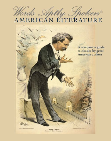 Words Aptly Spoken®: American Literature, 2nd ed