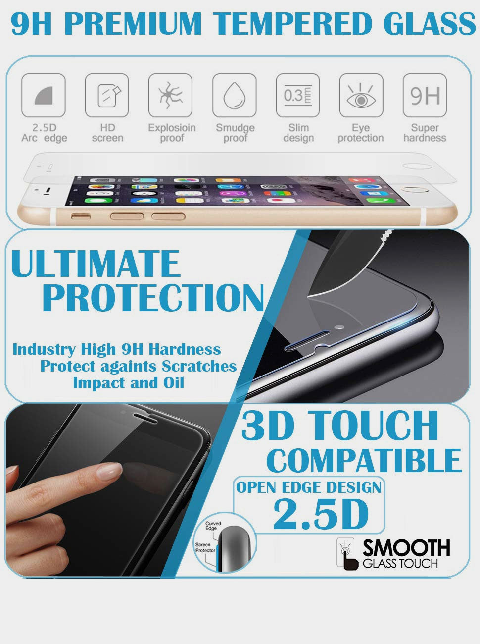 iSOUL tempered Glass
