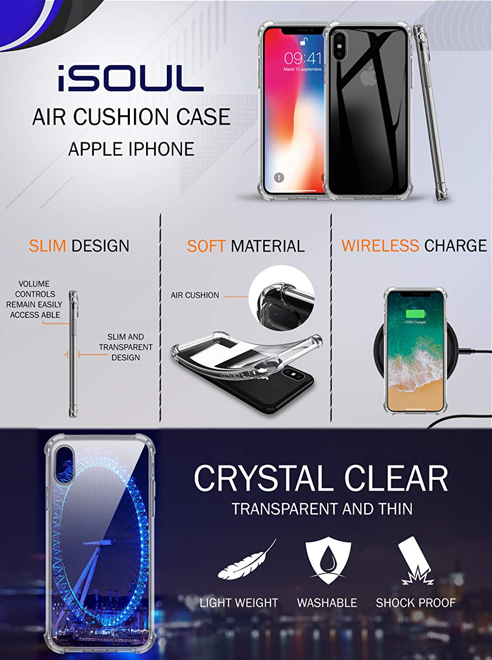 iSOUL screen Protector
