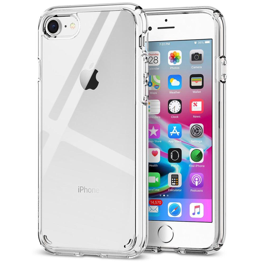 Low cost Transparent Hard Back Case for iPhone SE 2020 / iPhone 7 / iPhone 8 in UK by  iSOUL
