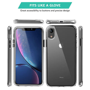 Best Clear Transparent Hard Back Case Cover for iPhone XR in UK 2020 - TradeNRG UK