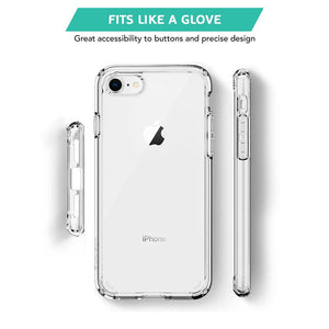 Low cost Transparent Hard Back Case for iPhone SE 2020 / iPhone 7 / iPhone 8 in UK - TradeNRG UK