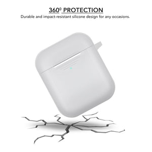 Genuine Silicone Cover Case for Airpods 1st Gen and 2nd Gen - iSOUL