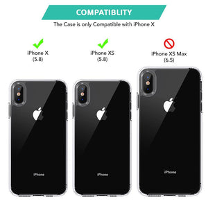 Best price for iPhone X / XS Crystal Clear Hard Back Case in UK 2020 - TradeNRG UK